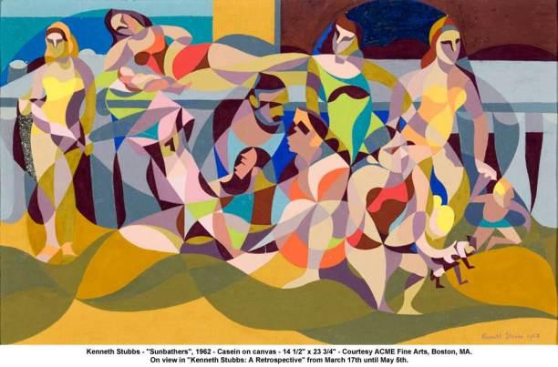 Kenneth Stubbs, Sunbathers. 1962