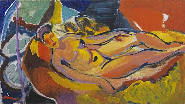 Ivon Hitchens, Algerian Woman No. 1