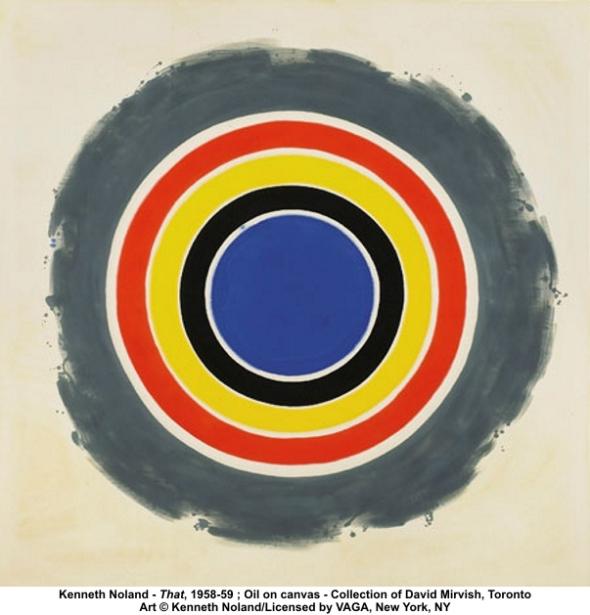 Kenneth Noland, That, 1958-1959, New York, New York