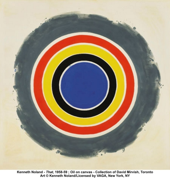Kenneth Noland, That, 1958-1959, New York, New York