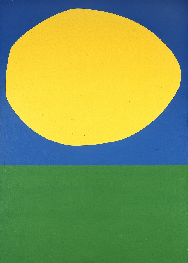 Ellsworth Kelly, High Yellow, Blanton Museum, Austin, TX