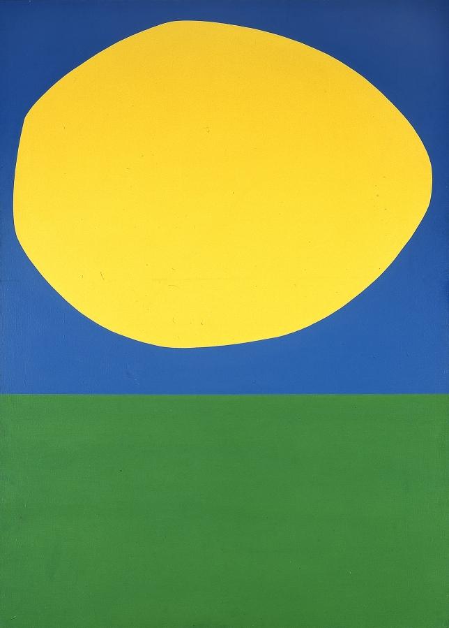 Ellsworth Kelly, High Yellow, Blanton Museum, Austin, TX