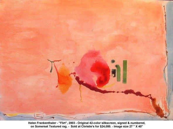 Helen Frankenthaler Flirt 2003