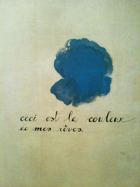 Joan Miro, Detail of Photo: This is the Color of my Dreams, 1925, Metropolitan Museum of Art, New York