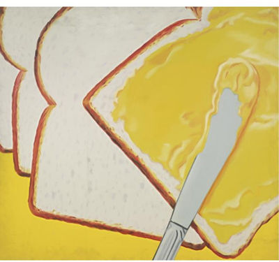 James Rosenquist, White Bread, 1964, National Gallery of Art, Washington DC