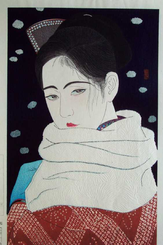 Kiyoshi Kobayakawa, Expression of Eyes, 1931
