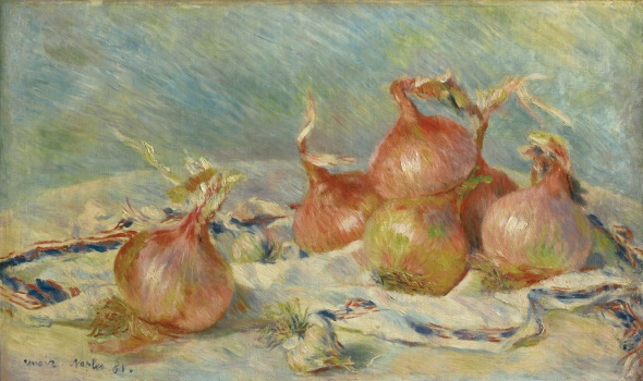 Pierre-Auguste Renoir, Onions, 1881. © Sterling and Francine Clark Art Institute