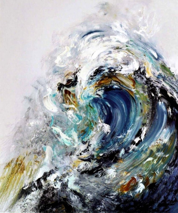 Maggi Hambling, Rising wave, 2009 © Maggi Hambling