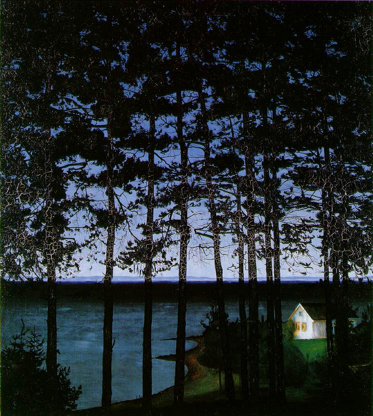 Harald Sohlberg, Fisherman's Cottage, 1907, Art Institute of Chicago