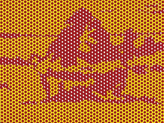 Roy Lichtenstein,  Haystack, 1969, © Estate of Roy Lichtenstein