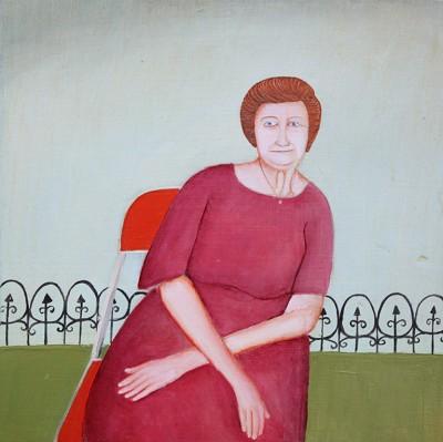 Daphne Confar, Vivian thinks it's not gossip, it's background information, 2012, courtesy of William Scott Gallery