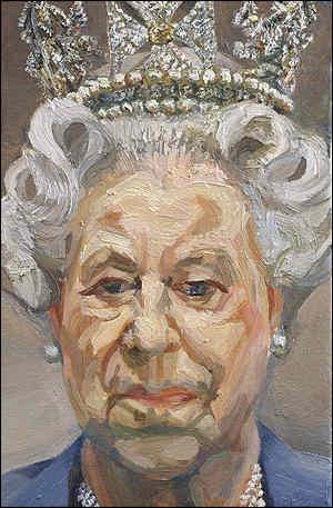 Lucien Freud, Queen Elizabeth II, 2002