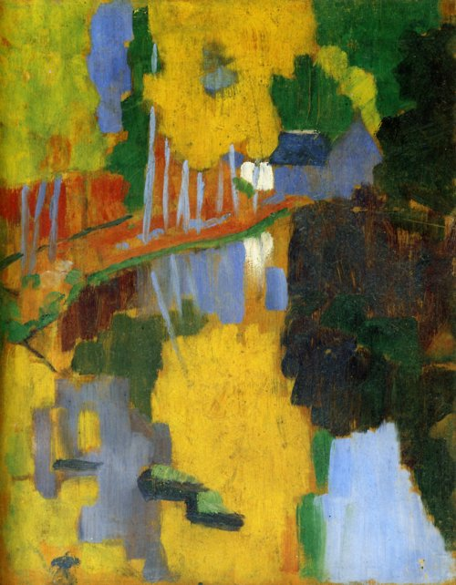 Paul Serusier, the Talisman, 1888