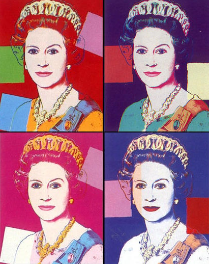 Andy Warhol, Queen Elizabeth II, 1985, Royal Collection