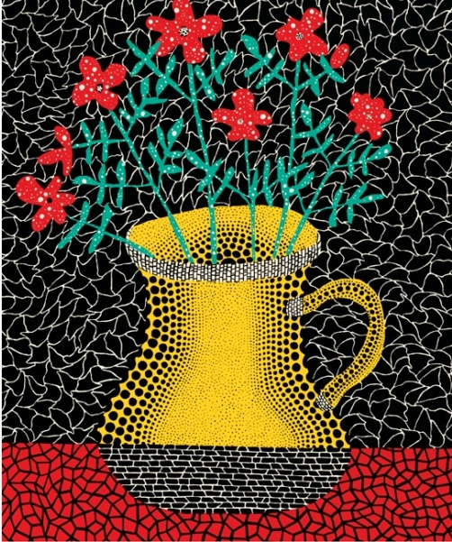 Yayoi Kusama, detail Lewis Carroll's Alice's Adventures in Wonderland: With Artwork by Yayoi Kusama, Penguin, 2012