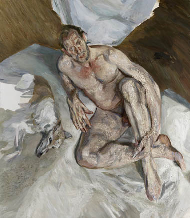 Lucian Freud, 152 Portrait of the Hound, 2011