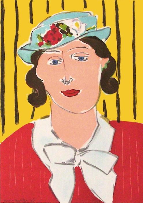 Henri Matisse, Femme au Chapeau, 1939