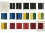 Barnett Newman, 18 Cantos, 1963-1964, a lithograph portfolio of 18 pages and one cover page