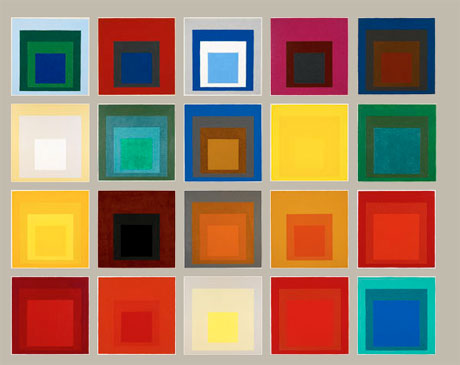 Josef Albers, Homage to Square, collection