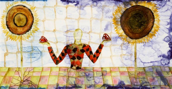 Francesco Clemente, A History of the Heart in Three Rainbows